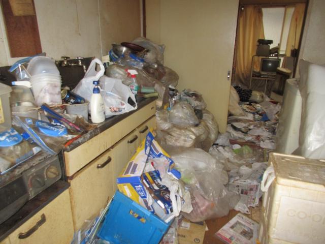 ゴミ屋敷 キッチン