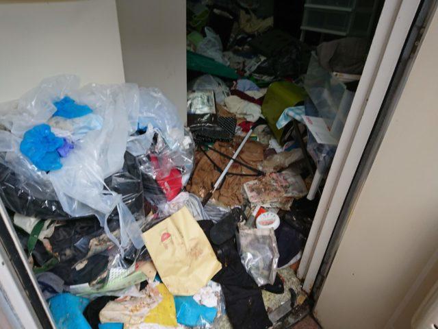 玄関 中野区 ゴミ屋敷