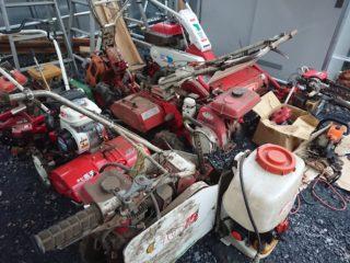 所沢市で多数の農機具の買取