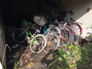 雑司ヶ谷 自転車回収前