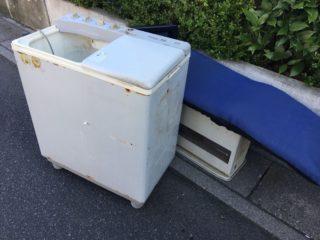 練馬区桜台 洗濯機・ヒーター・座椅子