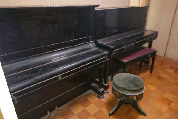 渋谷区恵比寿でピアノ2台を解体処分してきました!