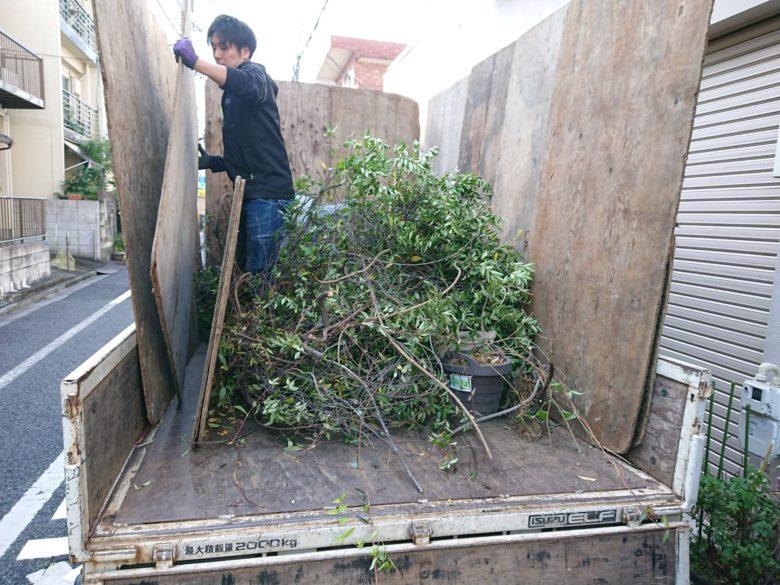 トラック 植木